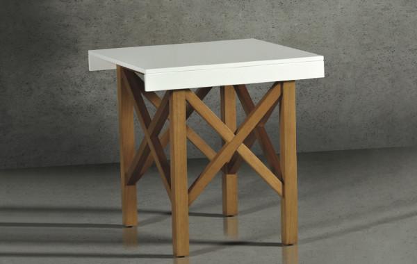 mesa de apoio lateral violet